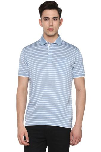 Mens Striped Polo T-Shirt