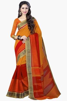 DEMARCAWomens Silk Designer Saree - 202338123