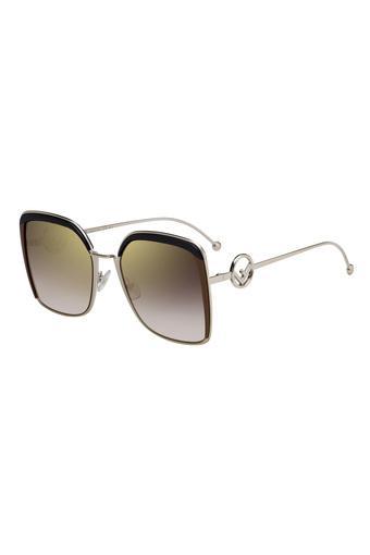Womens Oversized UV Protected Sunglasses - FEN20105609Q5