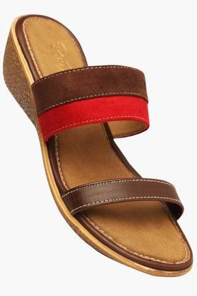 RAW HIDE Womens Daily Wear Slipon Wedge Sandal