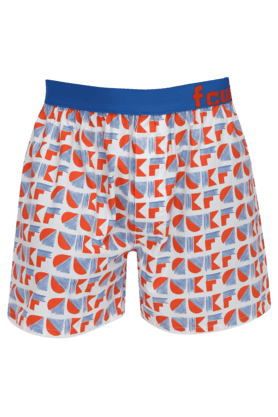 FCUK Mens Stretch Printed Boxers - 200852083