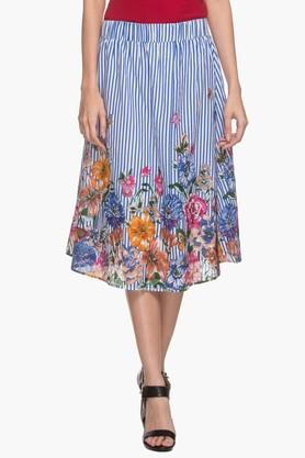 FRATINI WOMAN Women Printed Knee Length Skirt