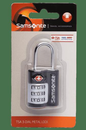 TSA 3-Dial Metal Lock