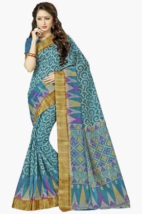 DEMARCAWomens Silk Designer Saree - 202338126
