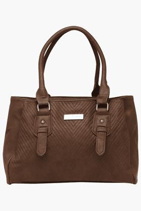 ELLIZA DONATEINWomens Zipper Closure Shoulder Handbag