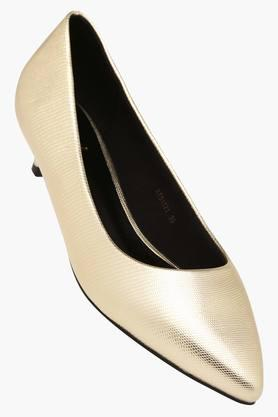 TRESMODEWomens Party Wear Slipon Heeled Shoes