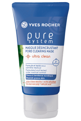 YVES ROCHER Pure System Pore Clearing Mask Ultra Clean 50ML