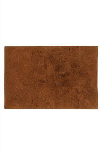 Rectangular Slub Texture Bath Mat