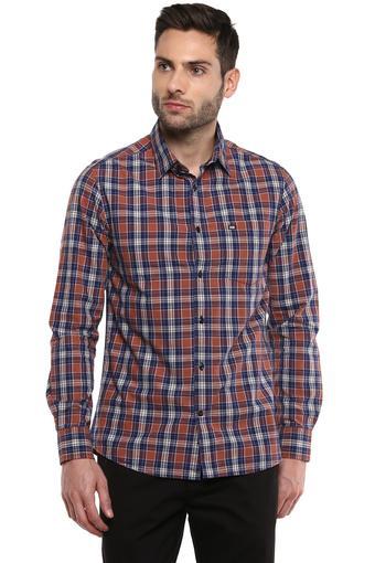 ARROW SPORT -  Brown MixShirts - Main