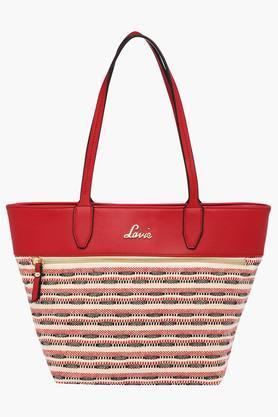 LAVIEWomens Zipper Closure Shoulder Bag