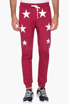 RS BY ROCKY STAR Mens 3 Pocket Printed Track Pants