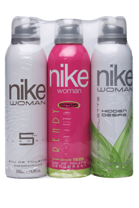 NIKE Womens Deo Set Of 3Pcs Of 200ml Each
