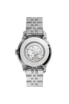 Unisex Townsman Black Dial Metallic Analogue Watch - ME3107