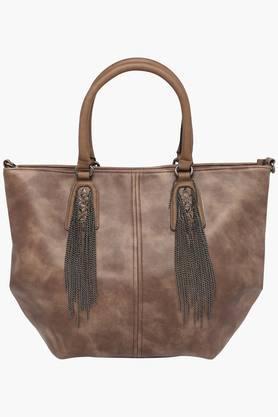 RS BY ROCKY STARWomens Leather Zipper Closure Tote Handbag - 201851953