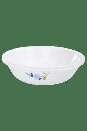 CORELLEIndia Collection Blue Blossom 2 Pcs 1Ltr Serving Bowl