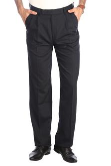 Stop-Mens Cotton Classic Cut Trouser