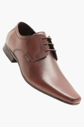 RED TAPE Mens Leather Lace Up Derbys - 202628295