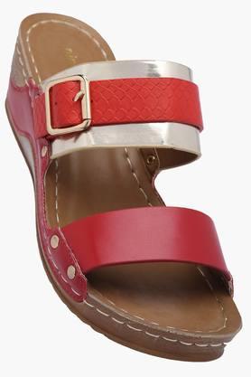 VENTURINIWomens Daily Wear Slipon Wedge Sandals - 201777537