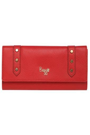 BAGGIT -  Red Wallets & Clutches - Main
