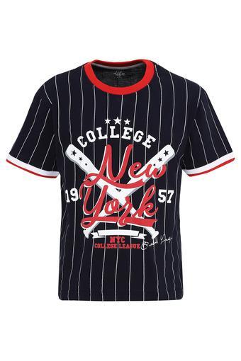 LIFE -  NavyT-Shirts - Main