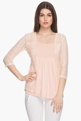 Womens Perforated Top