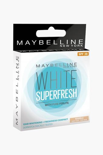 White Super Fresh Compact - Marble