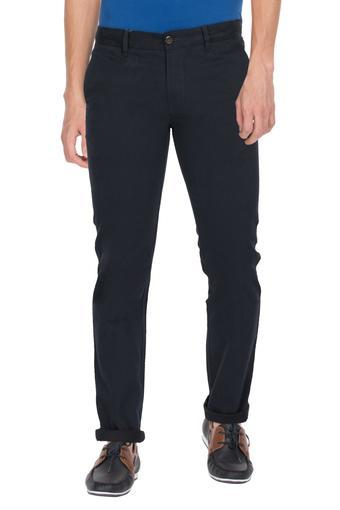 LOUIS PHILIPPE SPORTS -  Black Cargos & Trousers - Main