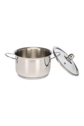 Round Metallic Induction Bottom Extra Deep Cookware Set of 5