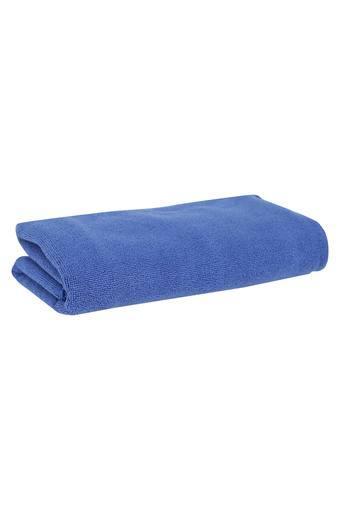 IVY -  NavyHand & Face Towel - Main