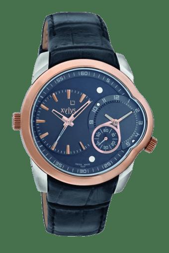 Mens Black Dial Watch NE9294KL01