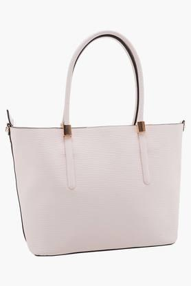 Womens Zipper Closure Shoulder Handbag
