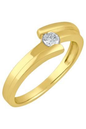 TARA JEWELLERSMen Gold & Diamond 18 Karat Ring - 201600957