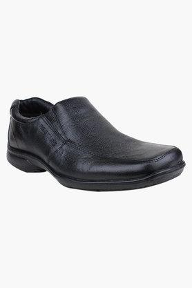 Mens Leather Slip On Formal Loafers - 200589432
