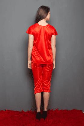 4 Pcs Satin Nightwear