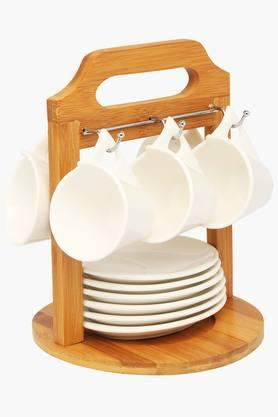 FERNCup & Saucer With Stand (Set Of 12)