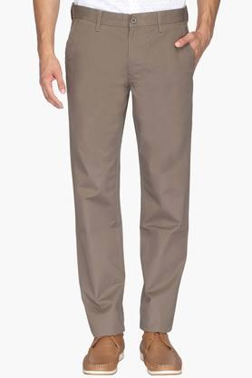 VAN HEUSEN SPORT Mens Slim Fit 5 Pocket Solid Chinos  ...