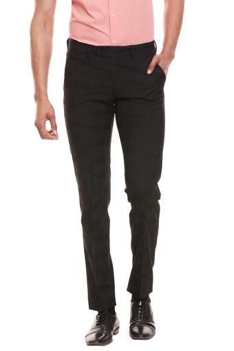C133 -  Black Formal Trousers - Main