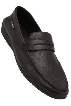 LEE COOPER Mens Leather Slipon Loafer