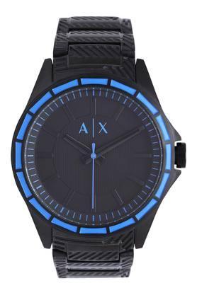 Mens Black Dial Analogue Watch - AX2634I