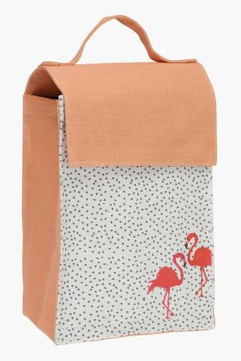 Flamingo Print Lunch Bag