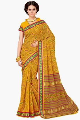 ASHIKA Womens Designer Cotton Printed Saree - 202338217