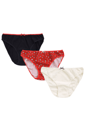 MOTHERCARE Women Cotton Blended Brief (- Pack Of 3)