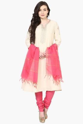 BIBAWomens A-Line Cotton Suit Set