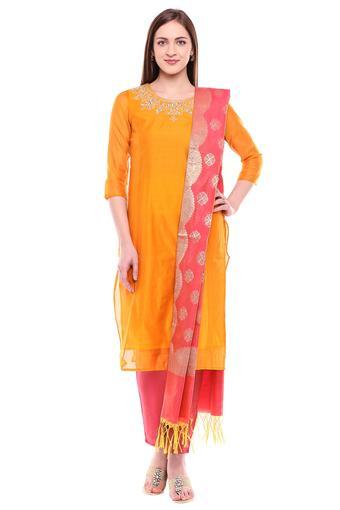 IMARA -  MustardSalwar & Churidar Suits - Main