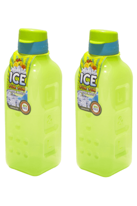 LOCK & LOCK Ice Fun And Fun Fridge Bottle - 1 Litre (Set Of 2) - 201128063