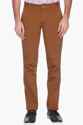 VETTORIO FRATINI Mens Solid Casual Chinos - 201576567