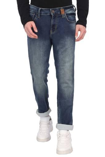 Mens Slim Fit Mild Wash Jeans (Skanders Fit)
