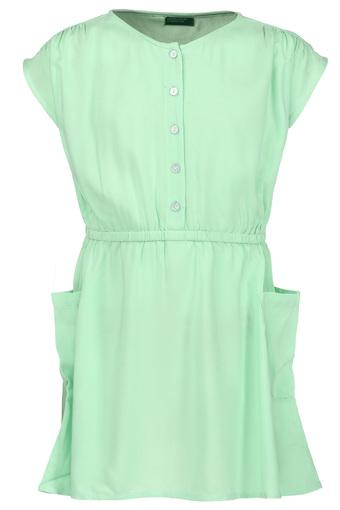 UNITED COLORS OF BENETTON -  Green Dresses & Jumpsuits - Main
