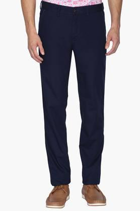 LOUIS PHILIPPE SPORTS Mens Slim Fit 4 Pocket Solid Chinos ( Steven Tapered)
