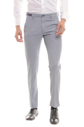 LOUIS PHILIPPE -  GreyCargos & Trousers - Main